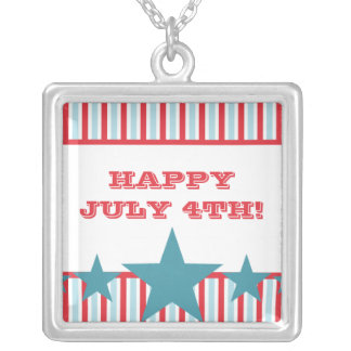 Bold Stars and Stripes Necklace