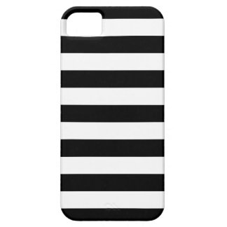 Bold Stripes Black and White iPhone 5/5S Case
