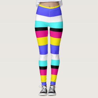 Bold Stripes Leggings