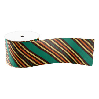 Bold Stripes Ribbon Grosgrain Ribbon