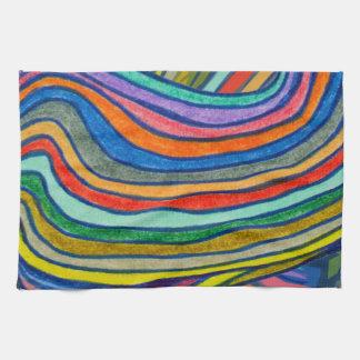 Bold Stripes Tea Towel