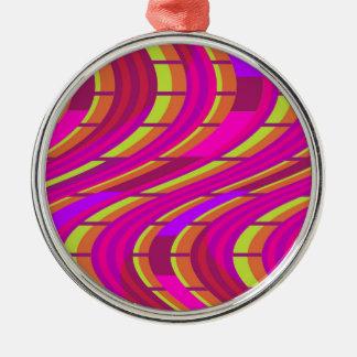 Bold Swirl Christmas Ornament