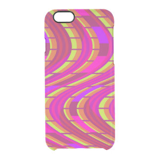 Bold Swirl Clear iPhone 6/6S Case