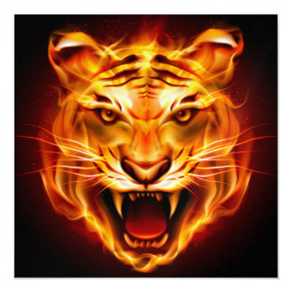 Bold Tiger Invitation - SRF