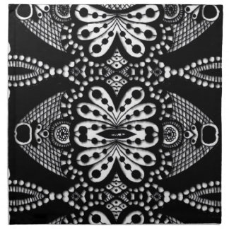 Bold tribal abstract luxury designer napkins
