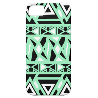 Bold Tribal Mint iPhone 5 Cover