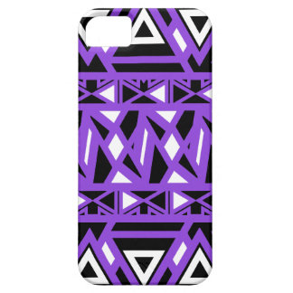 Bold Tribal Purple Barely There iPhone 5 Case