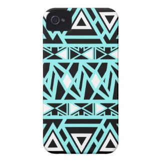 Bold Tribal Turquoise iPhone 4 Cases