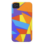 Bold Unique Colourful Abstract iPhone 4/4S Cases