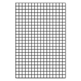 Bold Unisex Black & White Check Print Tissue Paper