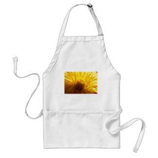 Bold yellow dandelion standard apron