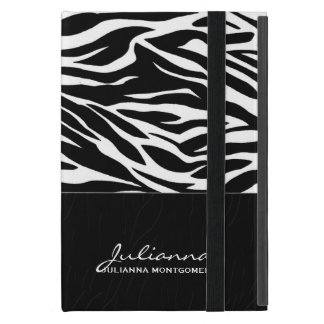 Bold Zebra Print Custom iPad Mini Covers