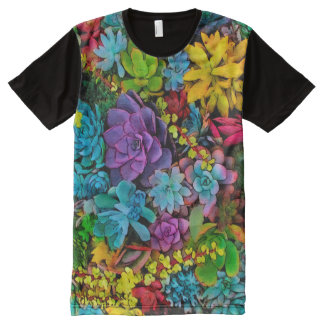 Boldly Go Succulents All-Over Print T-Shirt