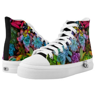 Boldly Go Succulents High Tops