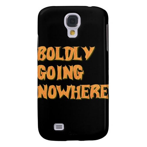 boldly going nowhere samsung galaxy s4 cover