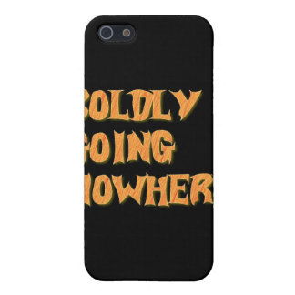 boldly going nowhere cover for iPhone 5