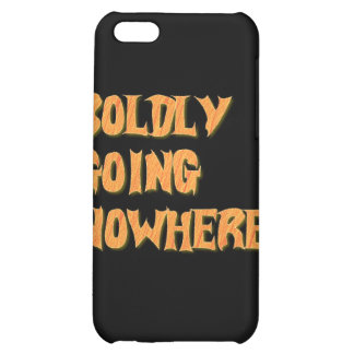boldly going nowhere cover for iPhone 5C