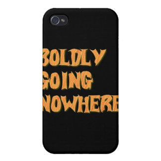 boldly going nowhere case for iPhone 4