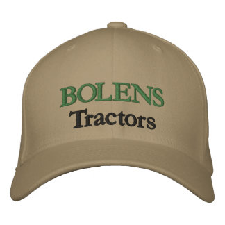 Bolens Tractors Lawnmowers Mowers Husky Design Embroidered Baseball Cap