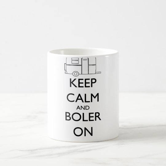 Boler mug - Keep Calm and Boler On