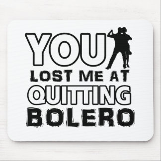 Bolero designs will make a great gift item mouse pad