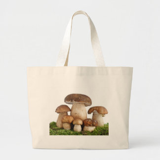 Boletus Edulis mushrooms Large Tote Bag