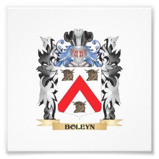 Boleyn Coat of Arms - Family Crest Photo Print