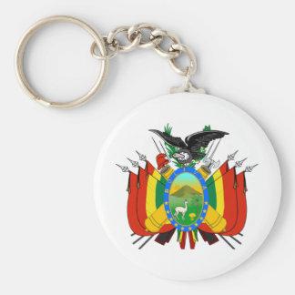 Bolivia COA Key Ring