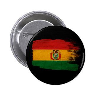 Bolivia Flag 6 Cm Round Badge