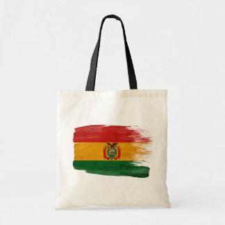 Bolivia Flag Canvas Bags