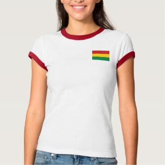 Bolivia Flag + Map T-Shirt