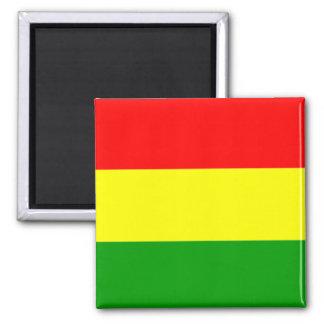 Bolivia: Flag of Bolivia refrigerator magnet