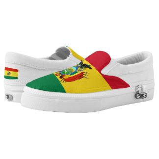 Bolivia Flag Slip On Shoes