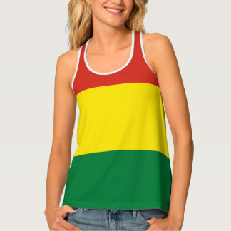 Bolivia Flag Tank Top