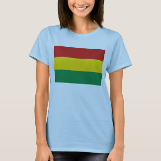 Bolivia Flag x Map T-Shirt