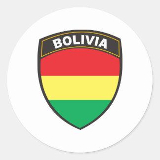 Bolivia Round Sticker