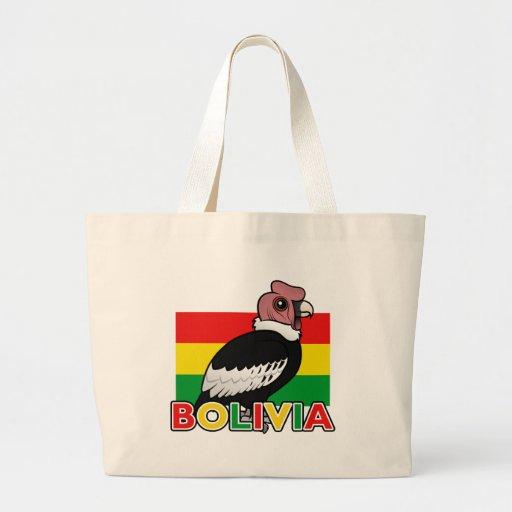 Bolivian Andean Condor Canvas Bag