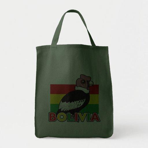 Bolivian Andean Condor Canvas Bags