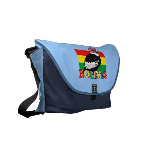 Bolivian Andean Condor Courier Bag