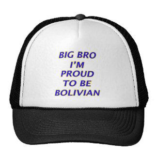 Bolivian design trucker hat