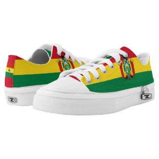 Bolivian Flag Low Tops