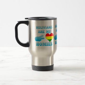 Bolivians are my Homies Stainless Steel Travel Mug