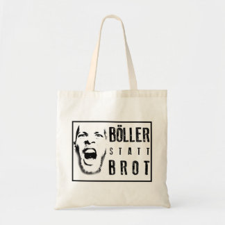 Böller instead of bread! tote bag