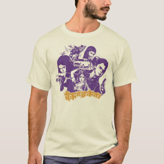 Bollywood Action Natural T-Shirt