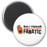 Bollywood fantatic 6 cm round magnet