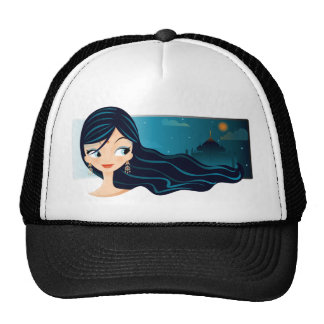 Bollywood Girl Cap