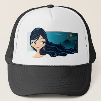 Bollywood Girl Trucker Hat