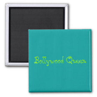 Bollywood Queen Square Magnet