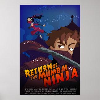 Bollywood Wannabe Ninja Poster