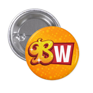 Bollywood Wannabe Small Logo Button